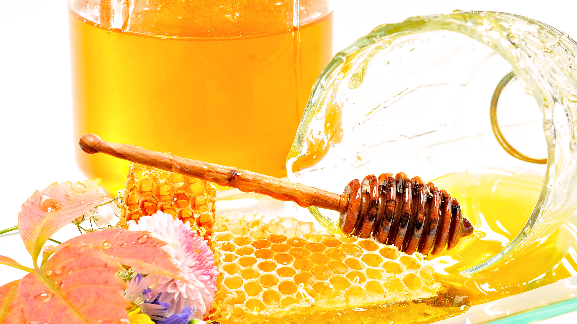 Мед от герпеса